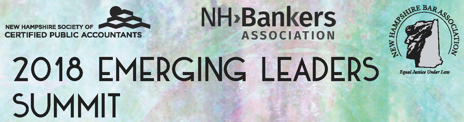 Emerging Leaders Summit w/NH Soc CPAs & NH Bar Assoc