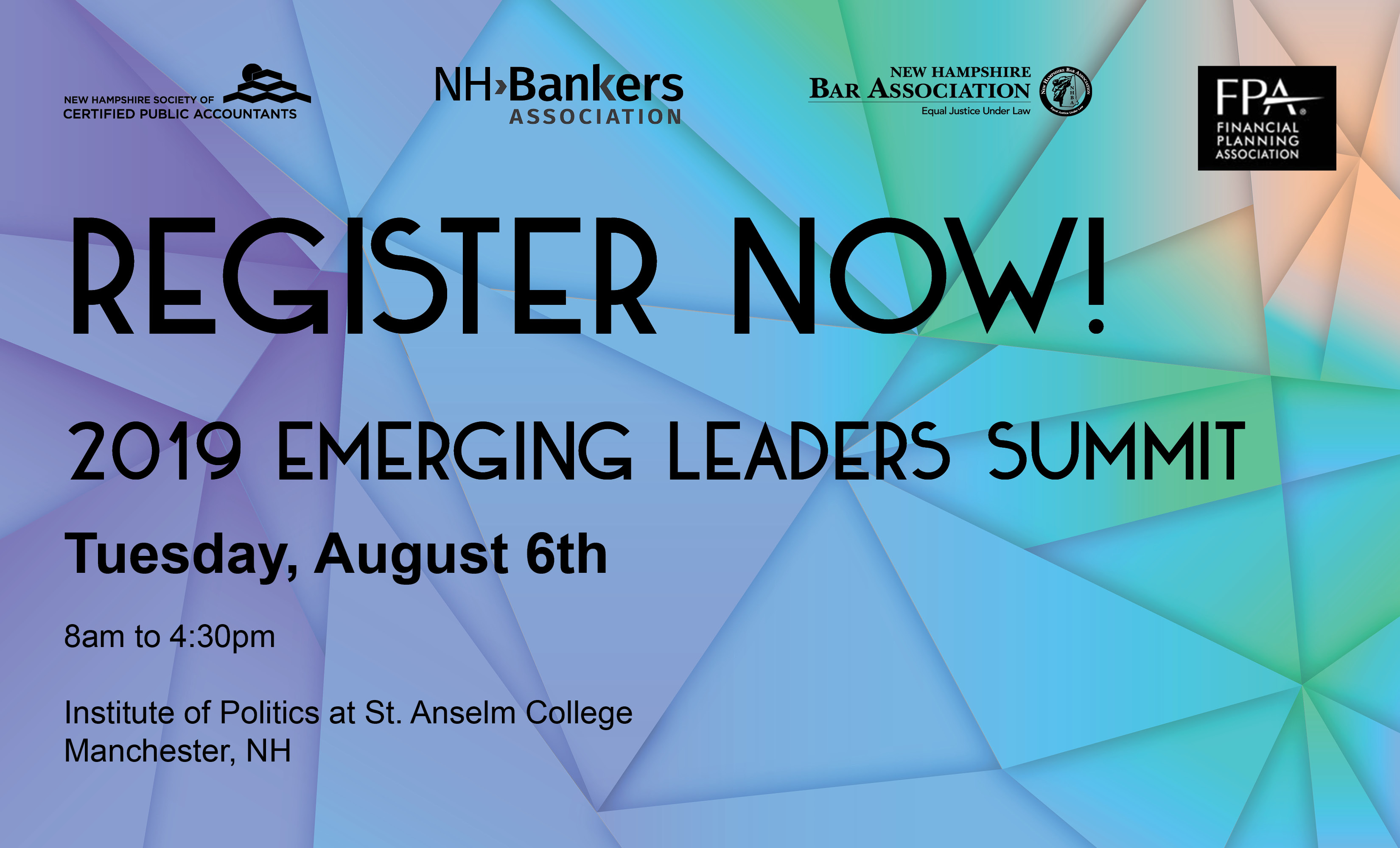 Emerging Leaders Summit w/NH Soc CPAs, NH Bar Assn & FPA
